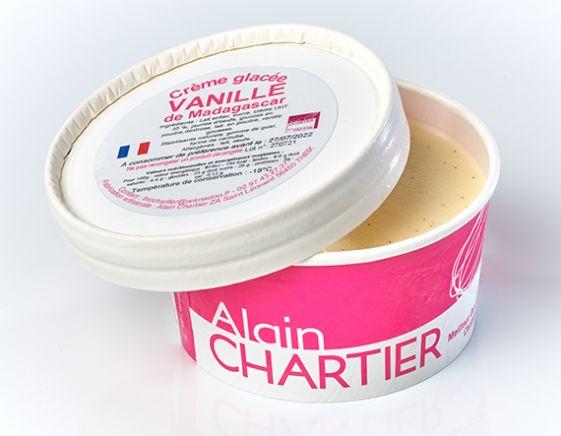 Petit pot glacé - Crème glacée Vanille de Madagascar