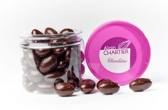 Grignotages Amandes chocolat noir