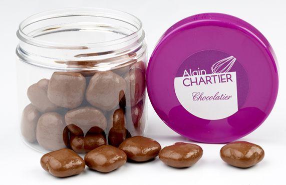 Grignotages Carré nougatine chocolat au lait
