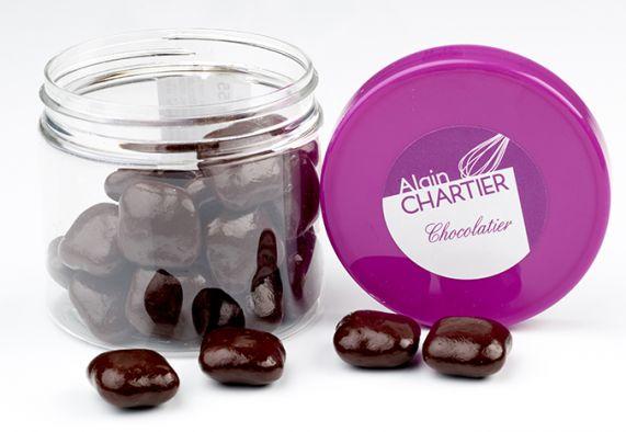 Grignotages Carré nougatine chocolat noir