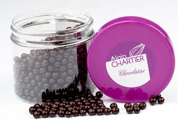 Perles croustillantes chocolat noir
