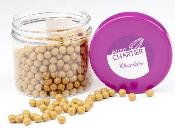 Perles croustillantes chocolat Dulcey