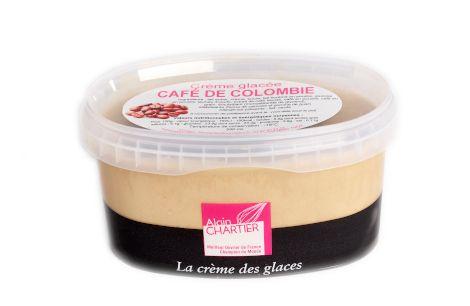 Crème glacée café de colombie