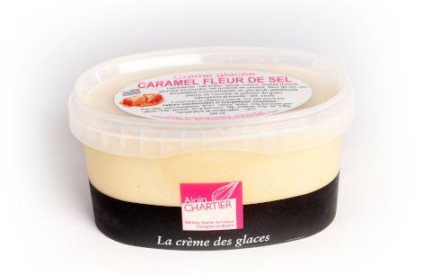 Crème Glacée Caramel fleur de sel