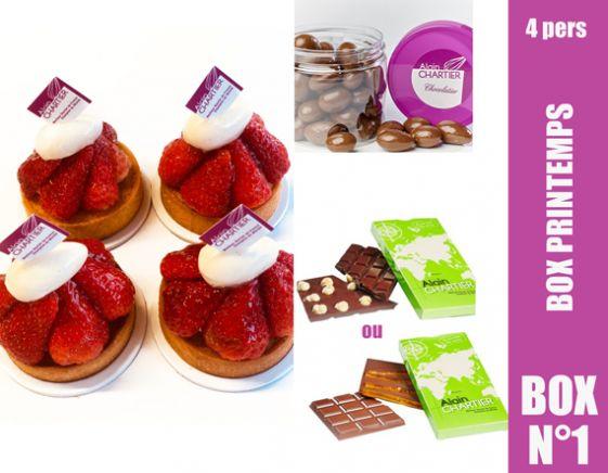 BOX PRINTEMPS Pâtisserie 4 pers