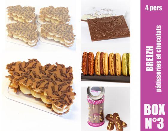 BOX BREIZH Pâtisseries chocolats