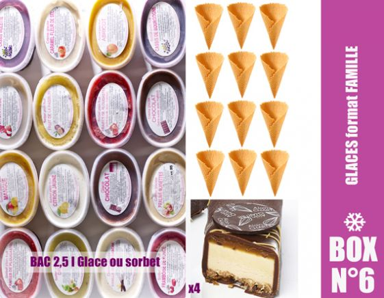 BOX GLACES FORMAT FAMILLE