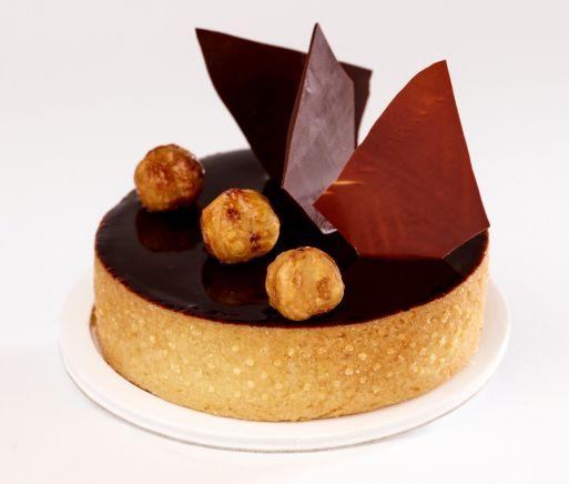 Tartelette chocolat noisettes