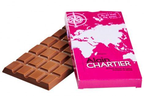Tablettes en chocolat au lait Tanariva 33%