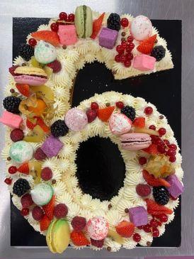 Spécial Number cake