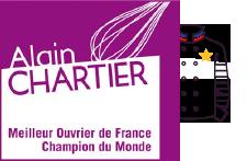 Alain Chartier, meilleur ouvrier de France et Champion du monde dans la fabrication de macarons glacier pâtissier chocolat dans le Morbihan