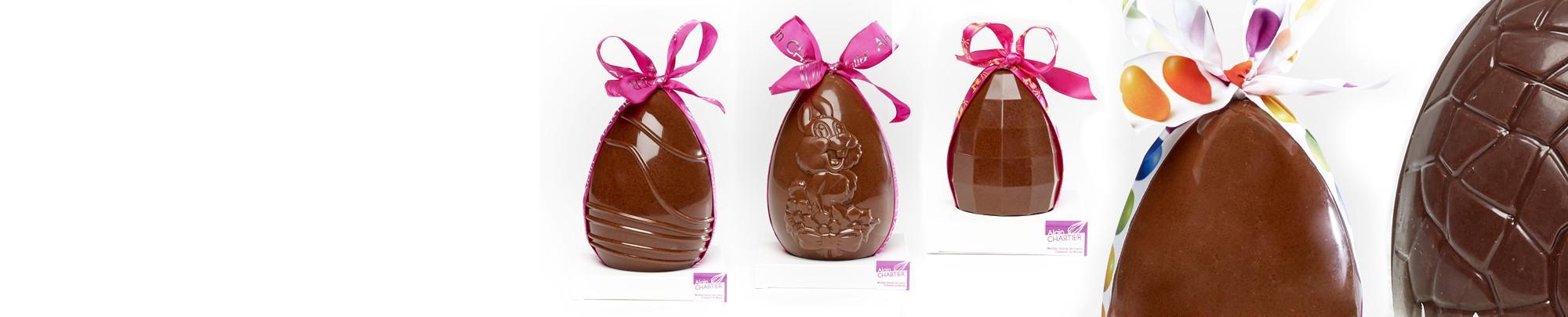 Les Oeufs en chocolat