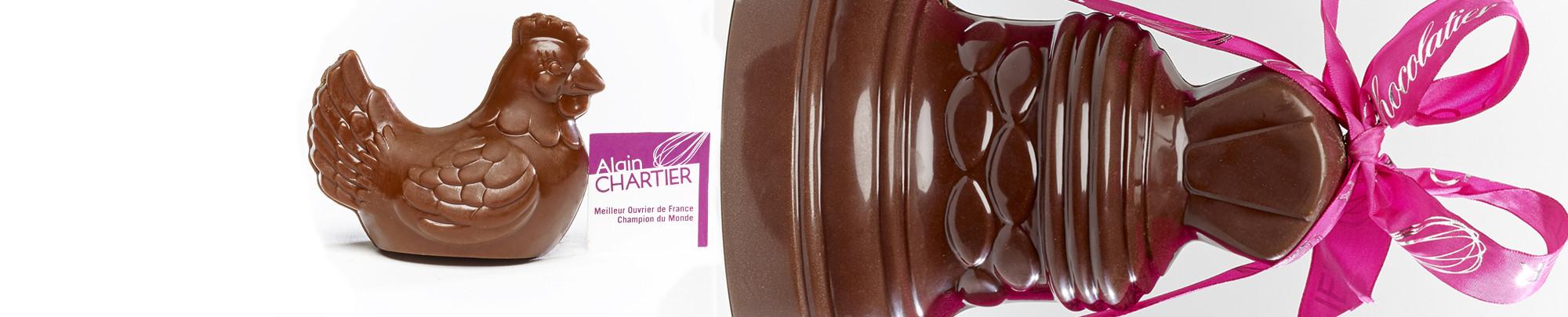 Les Cloches en chocolat