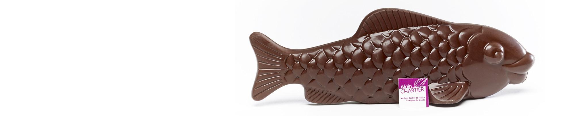 Les Poissons en chocolat