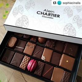 Merci @sophiecinalla 🍫😉 #repost #vosphotosinstagram ・・・ Pas de confinement sans chocolat #alainchartier ! 😋🍫 #alainchartier #mof #morbihan